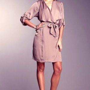 BCBG Maxazria Sateen Trench Dress Size S